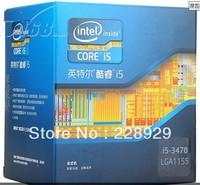 Intel core 2 i5-3470 box CPU (LGA1155/3.2GHz/6M three level cache is /77W/22 nm)