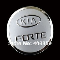 2009-2012 KIA Cerato/Forte High quality stainless steel Fuel tank cover Trim bnh