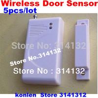 Economical wireless door sensor/ door magnetic detector  in 433mhz, 5pcs/lot