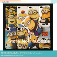 New Despicable Me 2 Minions Cartoon Hard Case Cover For iPhone 4 4S 4G 200pcs/lot DHL free shpping