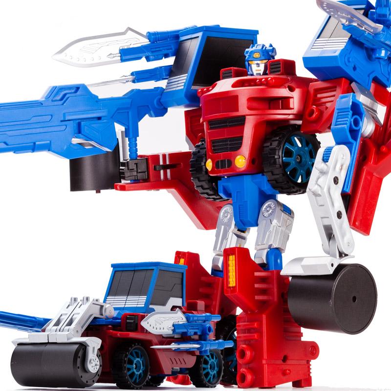 Deformation robot remote control deformation toys deformation of bulldozer deformation car about toy(China (Mainland))