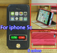 Luxury New Fashion Case For Iphone 5C 2014 New Arrive Cover For Ipone5C Leather Cover For Ihone5 C Free Shipping Dropship
