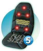 free shipping 5 motors vibrating massager cushion, vibrating massager matress with 5 motors, far infrated heat massager