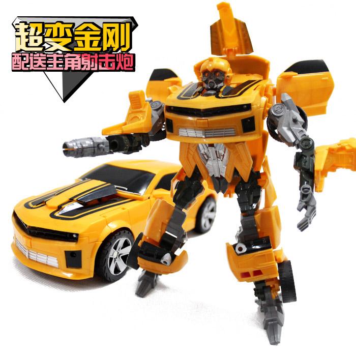 Kumgang Ares deformation 3 bumblebee lightxvave toy robot model birthday gifts(China (Mainland))