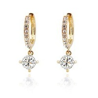 2014 top selling valentines gift Zircon Drop Crystal hotselling wholesales Earrings fashion crystal earrings jewelry 82396