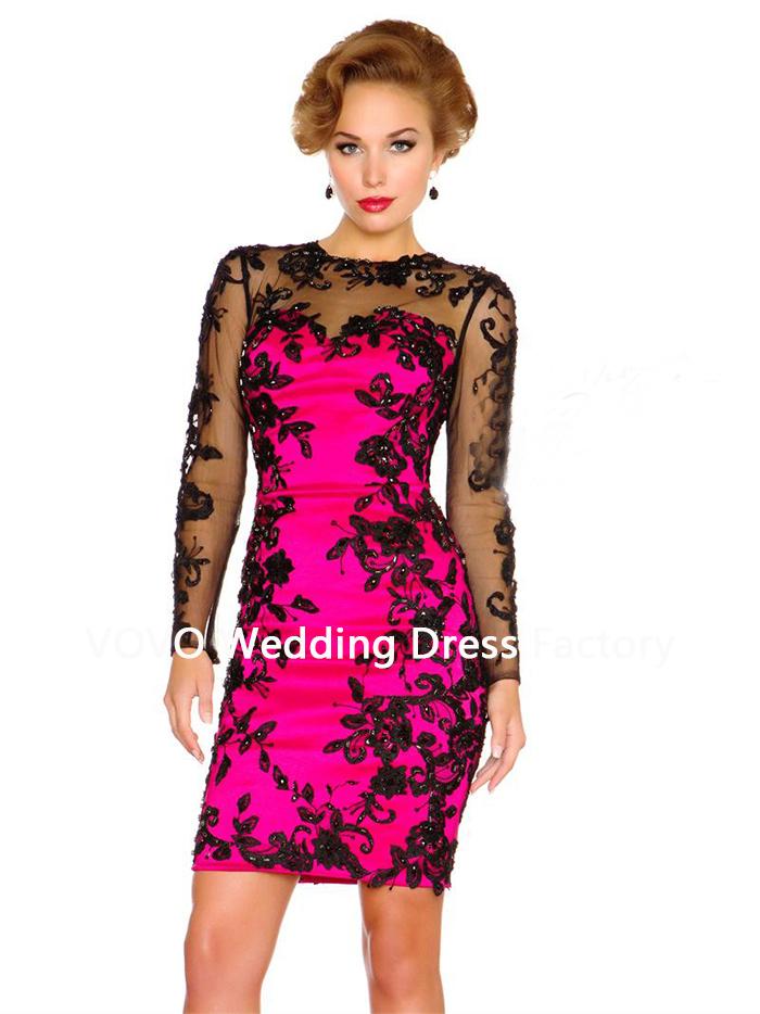 Pink Black Dress – syma.tk