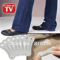 Free shipping as seen on tv 400Packs/LOT Hemming My Way Style Snaps Style Adhesive Jeans Pants Hem Snaps Sticker Without Sewing
