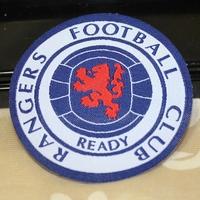 Rangers  football club patch  bule badges  3pcs/lot
