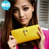 Women's buckle long design Women wallet coin purse multi card holder card holder women's wallet