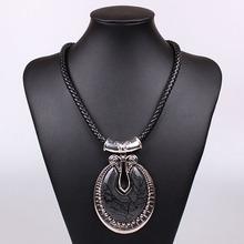 black chunky necklace promotion