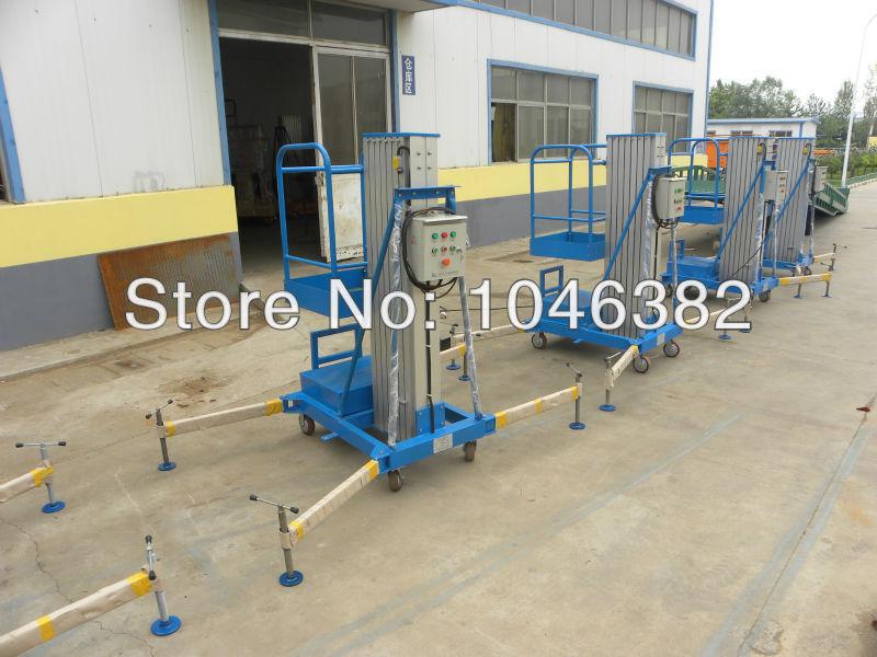 Hydraulic Single Mast Aluminium Work Lift Table(China (Mainland))