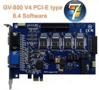 16CH GV Card, GV-800 V4 V8.4 GV DVR Card PCI-E Interface