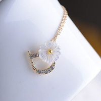 [U.S. Micro genuine 18K gold plating ] Full crystal Crystal D letters short chain ossicular chain of small amounts of fresh