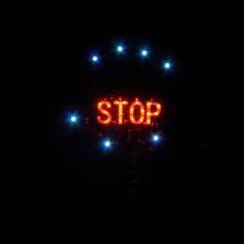 popular led stop sign