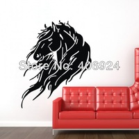 Wholesale The Horse Kids Room Wall Art Sticker Decor Nursery Vinyl Wall Stickers 45x55cm Home Decor