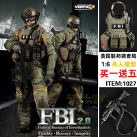 1/6 action figure 1:6 1/6 2 veryhots vh 1027 federal fbi 2 . o