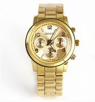 New Immigrant Women Watches, Geneva Steel Band Watches, Luxury Fashion Quartz Watch