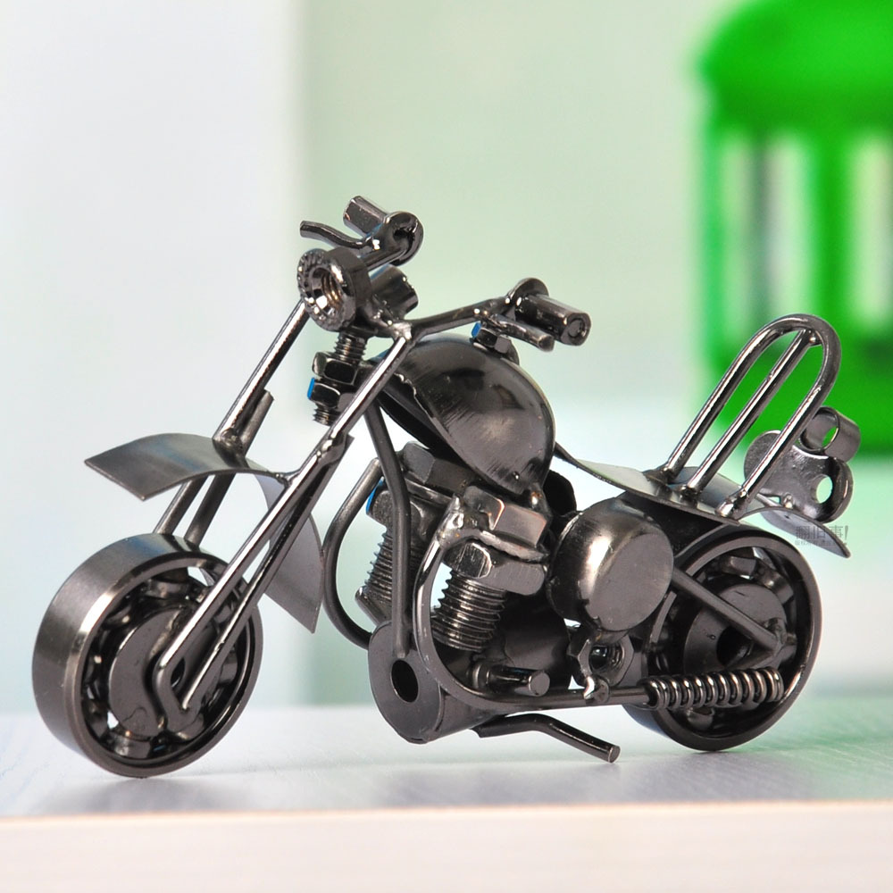 Motorcycle model home furnishings fashion decoration cars birthday gift crafts male(China (Mainland))