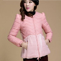 2013  winter cotton-padded jacket outerwear