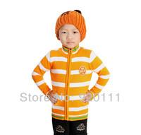 Wholesale 2pcs/lot 2014 winter children sweater boys sweater cardigan high quality cotton metal zipper kids sweater knitwwear