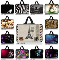 "Many Designs Nice 12"" Laptop Sleeve Case Bag Cover Pouch +Handle For ASUS Q200E 11.6"" Notebook For HP Thinkpad  Acer Sony ASUS"