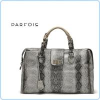 Free Shipping  Spain top famous brand Parfois snakeskin women's handbag office lady bag with laptop inner bag 1200g  #58374
