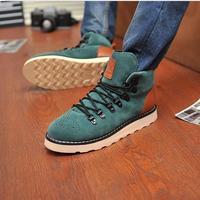 Good Quality Size 39-44 Men Caual sports Shoes Men nubuck leather Martin shoes Men's shoes M690#