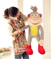 Free shipping 110cm Dora The Explorer plush toy Boots soft stuffed toy monkey soft doll