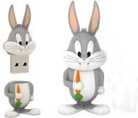 Cartoon Bugs bunny model usb 2.0 memory flash stick thumb pen drive rabbit 4-32GB free shipping