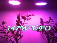 QUAD-BAND147W LED Grow Light  Hydroponic Plant Grow Light  Indoor Hydroponic System Plant UFO  49*3W led light