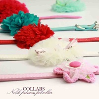 Diy pet saidsgroupsdirector PU girgashites collar collapsibility small dogs pet collar dog collar dog ring cat collar