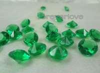 Emerald Diamond Confetti  4Carat  1000pcs/lot  Table Centerpiece