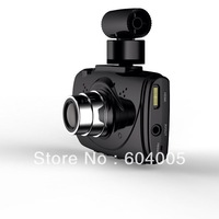 "1080p 2.7"" TFT 1/4 CMOS 5MP Wide Angle Lens Car DVR w HDMI G-sensor GPS Black"