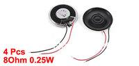 4 Pcs Repair Part Internal Speakers Magnet 28mm 2500Hz 8Ohm 0.25W for PC Laptop