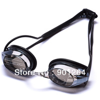 Wholesale free shipping mirror speedo style waterproof swimming goggle