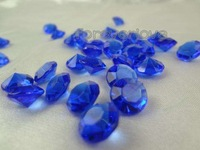 1000 Royal Blue Diamond Confetti  4C  Xmas Party Table Decorations