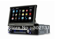 1 din Android 4.0 car dvd player with GPS Car radio 7 inch WIFI 3G 3D PIP SWC BT TV USB/SD