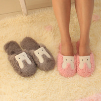 Cotton-padded winter slippers lovers slippers indoor at home slip-resistant floor slippers warm shoes