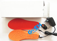 Singapore Post FREE shipping heated shoe insole with remote controller for Men