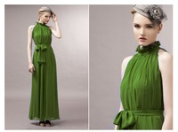 2013 summer women's fashion bohemia mop full dress stand chiffon one-piece dress