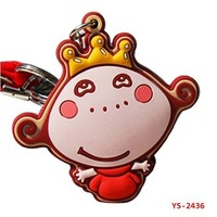 YS-2436 Pvc keychain Cute cartoon figure lovely for girls and children