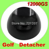 DHL Free shipping 12, 000gs  Super golf detacher Security tag remover, eas hard tag magnetic detacher black color 6pcs/lot