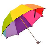 Princess Umbrella Top Quality Fahsion rainbow Straight umbrella rain umbrellas paraso Citymoon Free Shipping