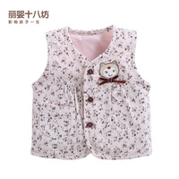 free shipping Children's clothing autumn child vest female child vest baby waistcoat 100% cotton autumn and winter