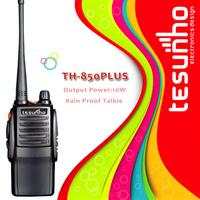 3pcs free shipping TESUNHO TH-850PLUS high power professional best handheld long range transceiver