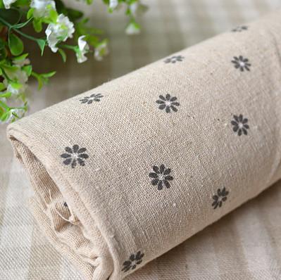 ... di lino tovaglia divano copertura canapa tessuto di fondo metri