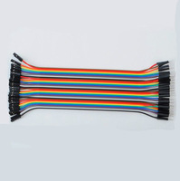 40pcs Dupont Wire Jumper Cables 20cm 2.54MM Male to Female 1P-1P for Arduino