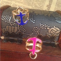 Min.order is $10 (mix order)  2014 New  fashion Anchors earrings  !