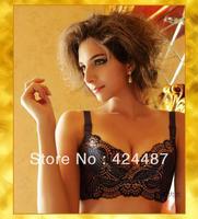 Sensuale soutien em renda en sem arame cotton + magnetic cloth refinement elegant royal sexy bra, maternidade sutia