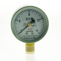 Water Oil Hydraulic Air Pressure Gauge Universal Gauge M14*1.5 0-16Mpa